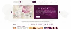 Szépségpont Szalon - weboldal