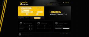 Transfer in London - Weboldal és online foglalási rendszer
